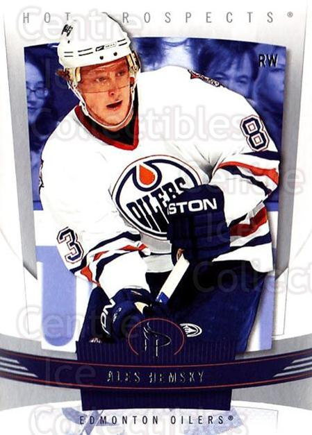2006-07 Hot Prospects #41 Ales Hemsky<br/>5 In Stock - $1.00 each - <a href=https://centericecollectibles.foxycart.com/cart?name=2006-07%20Hot%20Prospects%20%2341%20Ales%20Hemsky...&quantity_max=5&price=$1.00&code=131702 class=foxycart> Buy it now! </a>