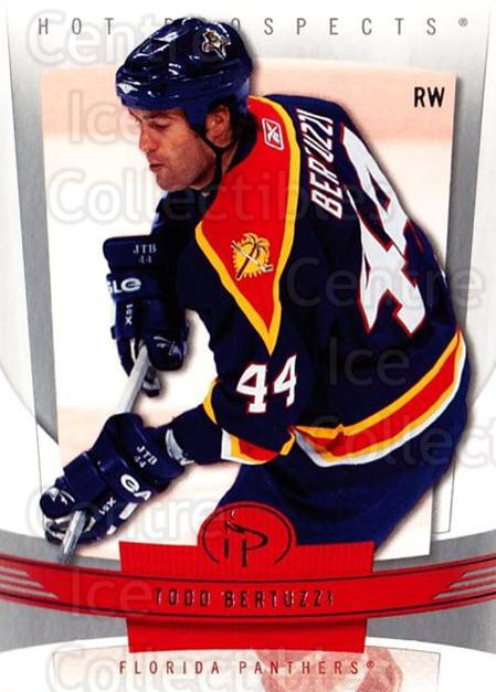 2006-07 Hot Prospects #44 Todd Bertuzzi<br/>4 In Stock - $1.00 each - <a href=https://centericecollectibles.foxycart.com/cart?name=2006-07%20Hot%20Prospects%20%2344%20Todd%20Bertuzzi...&quantity_max=4&price=$1.00&code=131705 class=foxycart> Buy it now! </a>