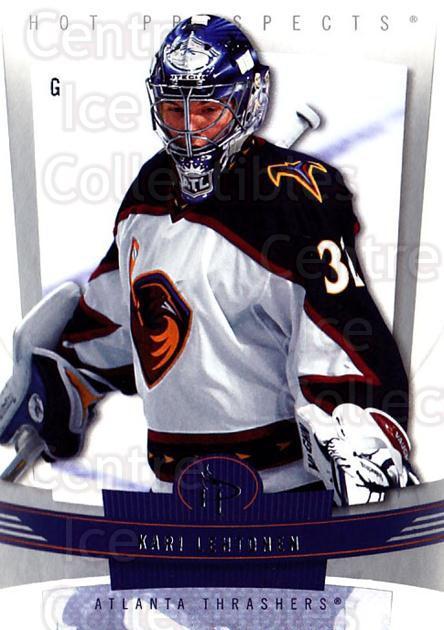 2006-07 Hot Prospects #6 Kari Lehtonen<br/>3 In Stock - $1.00 each - <a href=https://centericecollectibles.foxycart.com/cart?name=2006-07%20Hot%20Prospects%20%236%20Kari%20Lehtonen...&quantity_max=3&price=$1.00&code=131722 class=foxycart> Buy it now! </a>