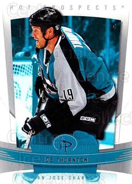 2006-07 Hot Prospects #83 Joe Thornton<br/>5 In Stock - $1.00 each - <a href=https://centericecollectibles.foxycart.com/cart?name=2006-07%20Hot%20Prospects%20%2383%20Joe%20Thornton...&quantity_max=5&price=$1.00&code=131746 class=foxycart> Buy it now! </a>