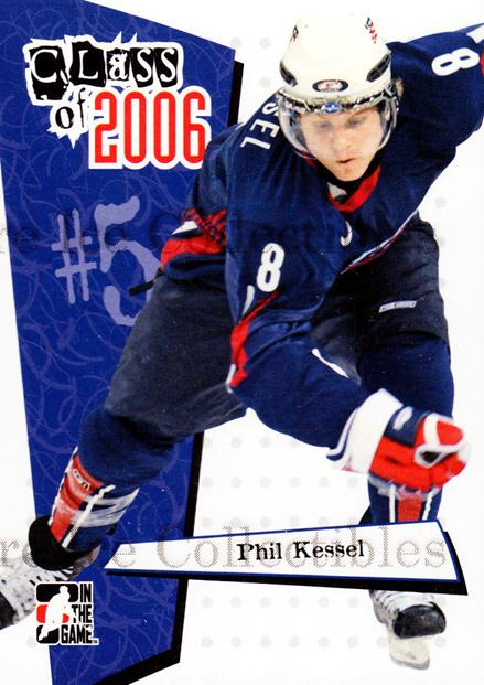 2006-07 ITG Heroes and Prospects Class of 2006 #2 Phil Kessel<br/>6 In Stock - $3.00 each - <a href=https://centericecollectibles.foxycart.com/cart?name=2006-07%20ITG%20Heroes%20and%20Prospects%20Class%20of%202006%20%232%20Phil%20Kessel...&quantity_max=6&price=$3.00&code=131791 class=foxycart> Buy it now! </a>