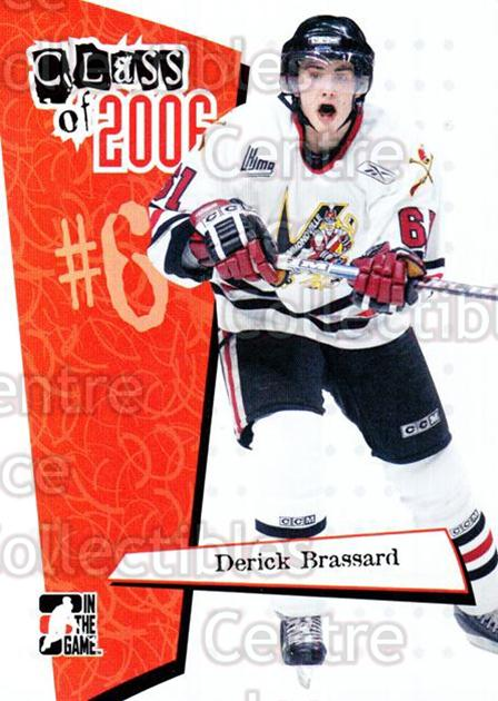 2006-07 ITG Heroes and Prospects Class of 2006 #3 Derick Brassard<br/>5 In Stock - $3.00 each - <a href=https://centericecollectibles.foxycart.com/cart?name=2006-07%20ITG%20Heroes%20and%20Prospects%20Class%20of%202006%20%233%20Derick%20Brassard...&price=$3.00&code=131792 class=foxycart> Buy it now! </a>