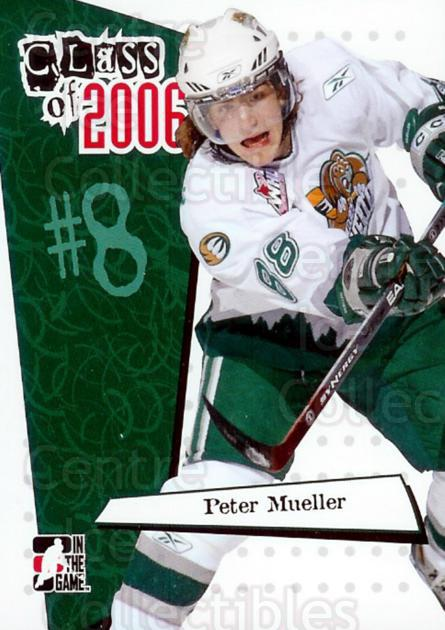 2006-07 ITG Heroes and Prospects Class of 2006 #4 Peter Mueller<br/>5 In Stock - $3.00 each - <a href=https://centericecollectibles.foxycart.com/cart?name=2006-07%20ITG%20Heroes%20and%20Prospects%20Class%20of%202006%20%234%20Peter%20Mueller...&price=$3.00&code=131793 class=foxycart> Buy it now! </a>