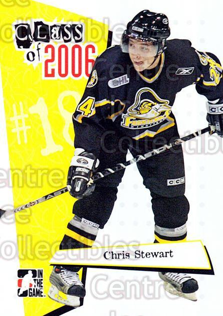 2006-07 ITG Heroes and Prospects Class of 2006 #11 Chris Stewart<br/>8 In Stock - $3.00 each - <a href=https://centericecollectibles.foxycart.com/cart?name=2006-07%20ITG%20Heroes%20and%20Prospects%20Class%20of%202006%20%2311%20Chris%20Stewart...&price=$3.00&code=131797 class=foxycart> Buy it now! </a>