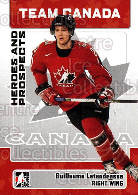 2006-07 ITG Heroes and Prospects #149 Guillaume Latendresse<br/>14 In Stock - $1.00 each - <a href=https://centericecollectibles.foxycart.com/cart?name=2006-07%20ITG%20Heroes%20and%20Prospects%20%23149%20Guillaume%20Laten...&price=$1.00&code=131853 class=foxycart> Buy it now! </a>