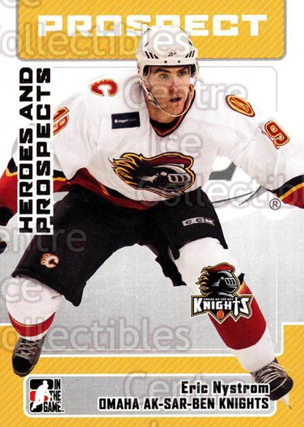 2006-07 ITG Heroes and Prospects #156 Eric Nystrom<br/>29 In Stock - $1.00 each - <a href=https://centericecollectibles.foxycart.com/cart?name=2006-07%20ITG%20Heroes%20and%20Prospects%20%23156%20Eric%20Nystrom...&quantity_max=29&price=$1.00&code=131860 class=foxycart> Buy it now! </a>