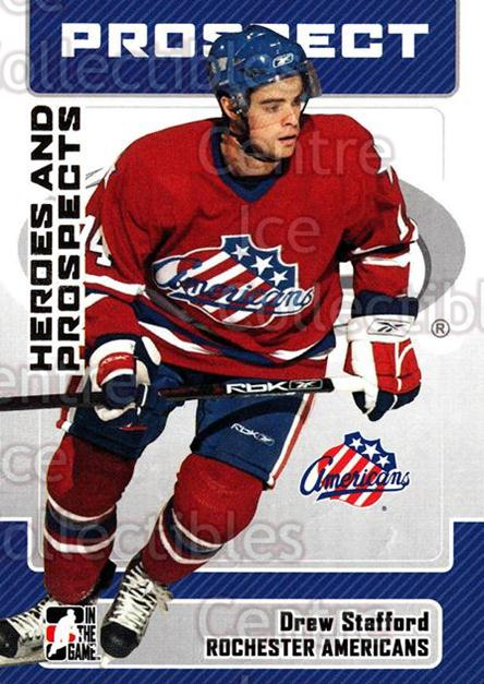 2006-07 ITG Heroes and Prospects #170 Drew Stafford<br/>1 In Stock - $1.00 each - <a href=https://centericecollectibles.foxycart.com/cart?name=2006-07%20ITG%20Heroes%20and%20Prospects%20%23170%20Drew%20Stafford...&price=$1.00&code=131876 class=foxycart> Buy it now! </a>