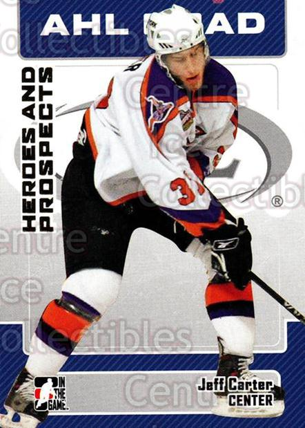 2006-07 ITG Heroes and Prospects #18 Jeff Carter<br/>15 In Stock - $1.00 each - <a href=https://centericecollectibles.foxycart.com/cart?name=2006-07%20ITG%20Heroes%20and%20Prospects%20%2318%20Jeff%20Carter...&price=$1.00&code=131883 class=foxycart> Buy it now! </a>