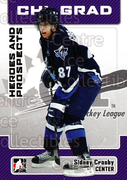 2006-07 ITG Heroes and Prospects #24 Sidney Crosby<br/>7 In Stock - $3.00 each - <a href=https://centericecollectibles.foxycart.com/cart?name=2006-07%20ITG%20Heroes%20and%20Prospects%20%2324%20Sidney%20Crosby...&quantity_max=7&price=$3.00&code=131904 class=foxycart> Buy it now! </a>