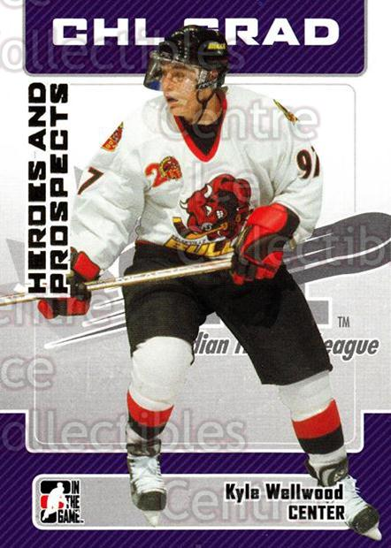 2006-07 ITG Heroes and Prospects #26 Kyle Wellwood<br/>14 In Stock - $1.00 each - <a href=https://centericecollectibles.foxycart.com/cart?name=2006-07%20ITG%20Heroes%20and%20Prospects%20%2326%20Kyle%20Wellwood...&price=$1.00&code=131906 class=foxycart> Buy it now! </a>