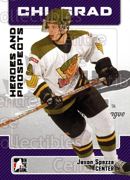 2006-07 ITG Heroes and Prospects #27 Jason Spezza<br/>14 In Stock - $1.00 each - <a href=https://centericecollectibles.foxycart.com/cart?name=2006-07%20ITG%20Heroes%20and%20Prospects%20%2327%20Jason%20Spezza...&price=$1.00&code=131907 class=foxycart> Buy it now! </a>