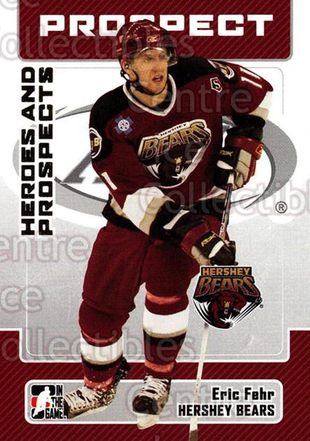2006-07 ITG Heroes and Prospects #34 Eric Fehr<br/>14 In Stock - $1.00 each - <a href=https://centericecollectibles.foxycart.com/cart?name=2006-07%20ITG%20Heroes%20and%20Prospects%20%2334%20Eric%20Fehr...&price=$1.00&code=131915 class=foxycart> Buy it now! </a>