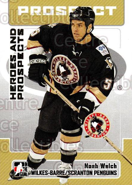 2006-07 ITG Heroes and Prospects #45 Noah Welch<br/>14 In Stock - $1.00 each - <a href=https://centericecollectibles.foxycart.com/cart?name=2006-07%20ITG%20Heroes%20and%20Prospects%20%2345%20Noah%20Welch...&price=$1.00&code=131927 class=foxycart> Buy it now! </a>