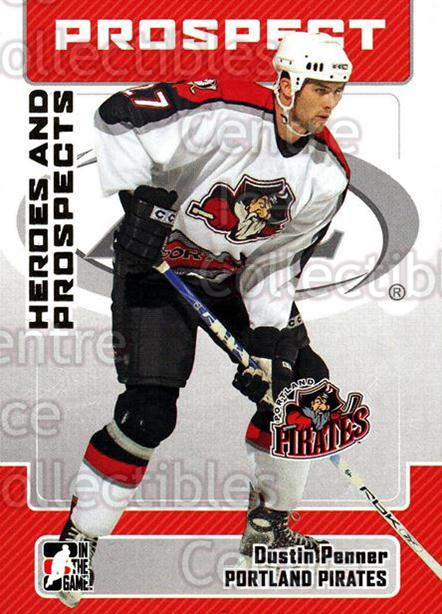 2006-07 ITG Heroes and Prospects #57 Dustin Penner<br/>14 In Stock - $1.00 each - <a href=https://centericecollectibles.foxycart.com/cart?name=2006-07%20ITG%20Heroes%20and%20Prospects%20%2357%20Dustin%20Penner...&quantity_max=14&price=$1.00&code=131940 class=foxycart> Buy it now! </a>