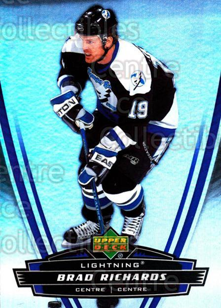 2006-07 McDonalds Upper Deck #41 Brad Richards<br/>8 In Stock - $1.00 each - <a href=https://centericecollectibles.foxycart.com/cart?name=2006-07%20McDonalds%20Upper%20Deck%20%2341%20Brad%20Richards...&quantity_max=8&price=$1.00&code=132095 class=foxycart> Buy it now! </a>