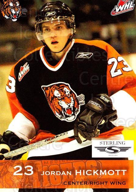 2006-07 Medicine Hat Tigers #10 Jordan Hickmott<br/>2 In Stock - $3.00 each - <a href=https://centericecollectibles.foxycart.com/cart?name=2006-07%20Medicine%20Hat%20Tigers%20%2310%20Jordan%20Hickmott...&quantity_max=2&price=$3.00&code=132114 class=foxycart> Buy it now! </a>