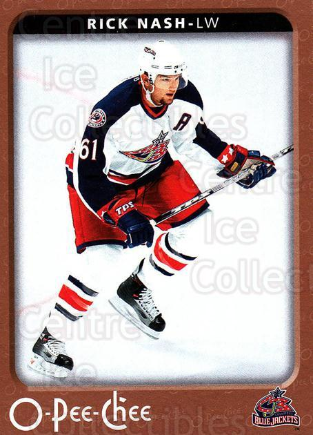 2006-07 O-Pee-Chee #139 Rick Nash<br/>6 In Stock - $1.00 each - <a href=https://centericecollectibles.foxycart.com/cart?name=2006-07%20O-Pee-Chee%20%23139%20Rick%20Nash...&quantity_max=6&price=$1.00&code=132197 class=foxycart> Buy it now! </a>