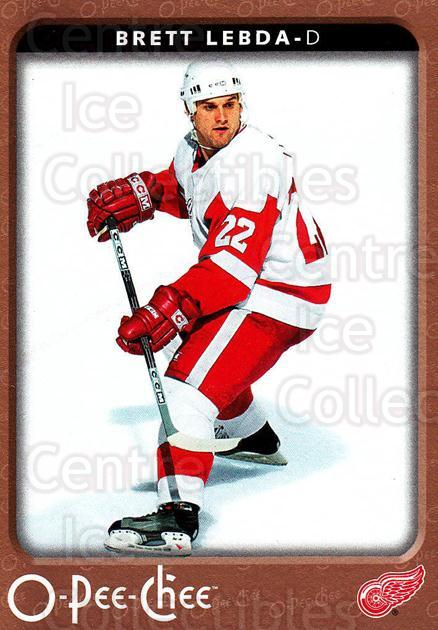 2006-07 O-Pee-Chee #188 Brett Lebda<br/>6 In Stock - $1.00 each - <a href=https://centericecollectibles.foxycart.com/cart?name=2006-07%20O-Pee-Chee%20%23188%20Brett%20Lebda...&quantity_max=6&price=$1.00&code=132247 class=foxycart> Buy it now! </a>