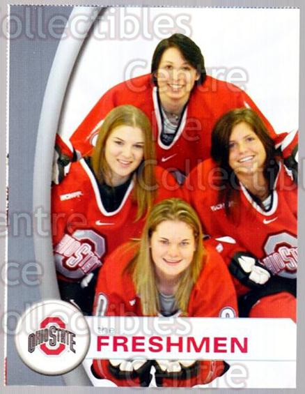 2006-07 Ohio State Buckeyes Women #20 Rachel Davis, Raelyn Larocque, Colleen Olson, Kristen Smith, Michelle Tonnessen<br/>2 In Stock - $3.00 each - <a href=https://centericecollectibles.foxycart.com/cart?name=2006-07%20Ohio%20State%20Buckeyes%20Women%20%2320%20Rachel%20Davis,%20R...&quantity_max=2&price=$3.00&code=132315 class=foxycart> Buy it now! </a>