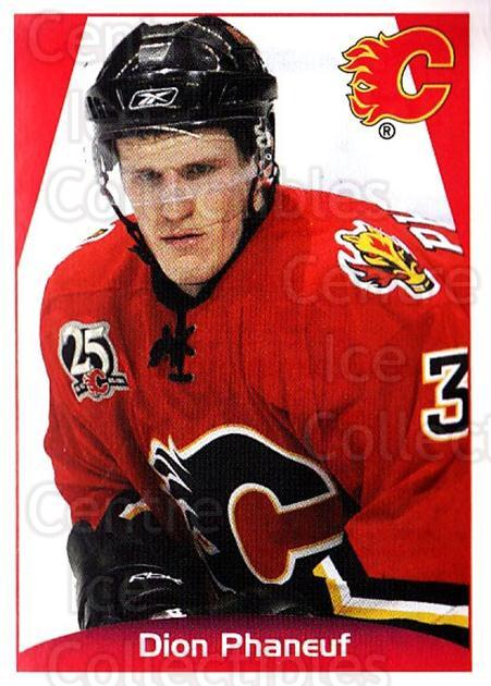 2006-07 Panini Stickers #199 Dion Phaneuf<br/>3 In Stock - $1.00 each - <a href=https://centericecollectibles.foxycart.com/cart?name=2006-07%20Panini%20Stickers%20%23199%20Dion%20Phaneuf...&quantity_max=3&price=$1.00&code=132408 class=foxycart> Buy it now! </a>