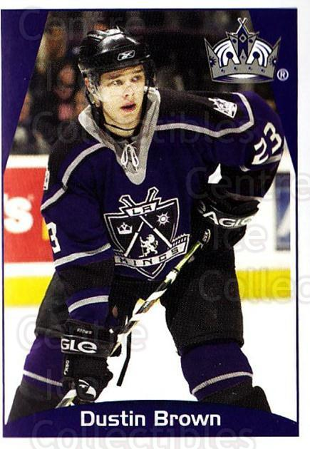 2006-07 Panini Stickers #288 Dustin Brown<br/>2 In Stock - $1.00 each - <a href=https://centericecollectibles.foxycart.com/cart?name=2006-07%20Panini%20Stickers%20%23288%20Dustin%20Brown...&quantity_max=2&price=$1.00&code=132469 class=foxycart> Buy it now! </a>