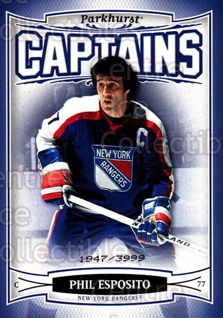 2006-07 Parkhurst #196 Phil Esposito<br/>8 In Stock - $3.00 each - <a href=https://centericecollectibles.foxycart.com/cart?name=2006-07%20Parkhurst%20%23196%20Phil%20Esposito...&quantity_max=8&price=$3.00&code=132598 class=foxycart> Buy it now! </a>