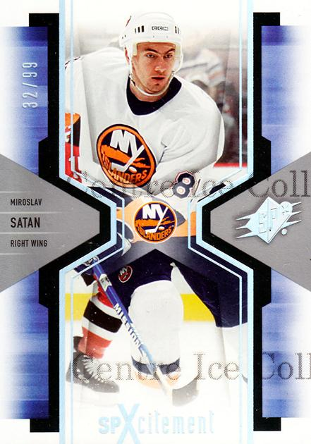 2006-07 SPx SPxcitement Spectrum #64 Miroslav Satan<br/>1 In Stock - $5.00 each - <a href=https://centericecollectibles.foxycart.com/cart?name=2006-07%20SPx%20SPxcitement%20Spectrum%20%2364%20Miroslav%20Satan...&quantity_max=1&price=$5.00&code=132861 class=foxycart> Buy it now! </a>