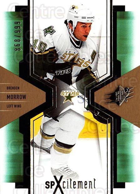 2006-07 SPx SPxcitement #32 Brenden Morrow<br/>3 In Stock - $3.00 each - <a href=https://centericecollectibles.foxycart.com/cart?name=2006-07%20SPx%20SPxcitement%20%2332%20Brenden%20Morrow...&quantity_max=3&price=$3.00&code=132877 class=foxycart> Buy it now! </a>