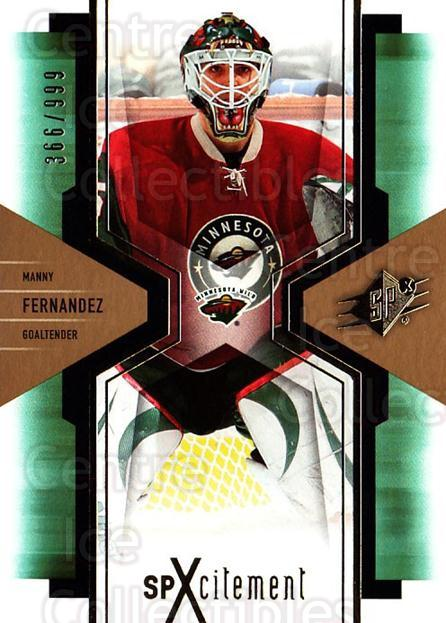 2006-07 SPx SPxcitement #51 Manny Fernandez<br/>8 In Stock - $3.00 each - <a href=https://centericecollectibles.foxycart.com/cart?name=2006-07%20SPx%20SPxcitement%20%2351%20Manny%20Fernandez...&quantity_max=8&price=$3.00&code=132892 class=foxycart> Buy it now! </a>