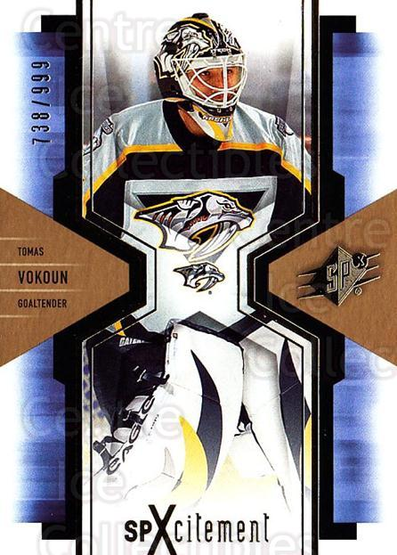 2006-07 SPx SPxcitement #59 Tomas Vokoun<br/>5 In Stock - $3.00 each - <a href=https://centericecollectibles.foxycart.com/cart?name=2006-07%20SPx%20SPxcitement%20%2359%20Tomas%20Vokoun...&quantity_max=5&price=$3.00&code=132894 class=foxycart> Buy it now! </a>