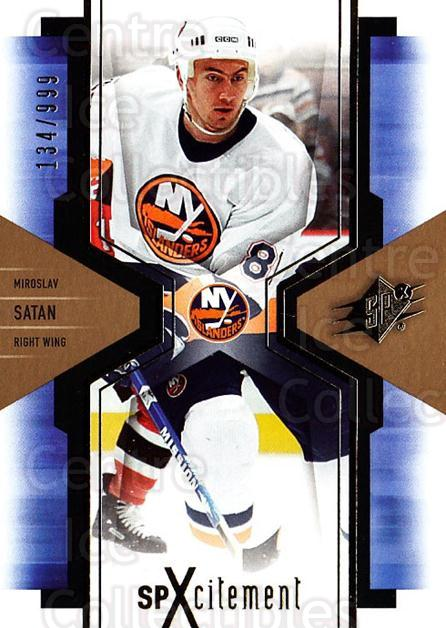 2006-07 SPx SPxcitement #64 Miroslav Satan<br/>5 In Stock - $3.00 each - <a href=https://centericecollectibles.foxycart.com/cart?name=2006-07%20SPx%20SPxcitement%20%2364%20Miroslav%20Satan...&quantity_max=5&price=$3.00&code=132898 class=foxycart> Buy it now! </a>