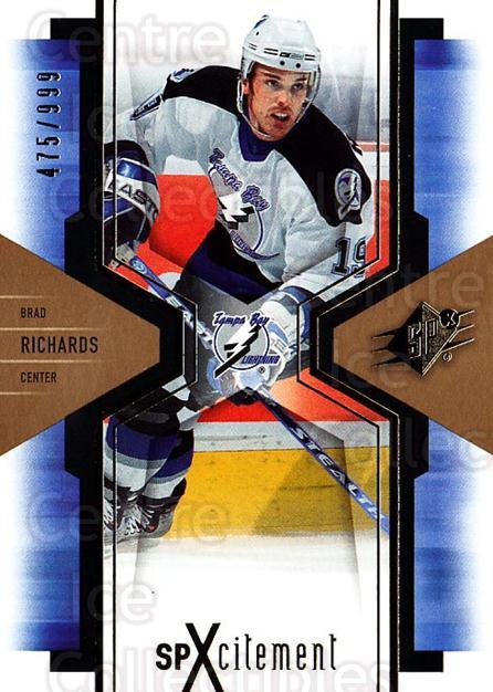 2006-07 SPx SPxcitement #90 Brad Richards<br/>4 In Stock - $3.00 each - <a href=https://centericecollectibles.foxycart.com/cart?name=2006-07%20SPx%20SPxcitement%20%2390%20Brad%20Richards...&quantity_max=4&price=$3.00&code=132915 class=foxycart> Buy it now! </a>