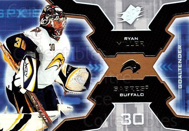 2006-07 SPx #10 Ryan Miller<br/>3 In Stock - $1.00 each - <a href=https://centericecollectibles.foxycart.com/cart?name=2006-07%20SPx%20%2310%20Ryan%20Miller...&quantity_max=3&price=$1.00&code=132923 class=foxycart> Buy it now! </a>