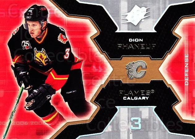 2006-07 SPx #13 Dion Phaneuf<br/>6 In Stock - $1.00 each - <a href=https://centericecollectibles.foxycart.com/cart?name=2006-07%20SPx%20%2313%20Dion%20Phaneuf...&quantity_max=6&price=$1.00&code=132926 class=foxycart> Buy it now! </a>