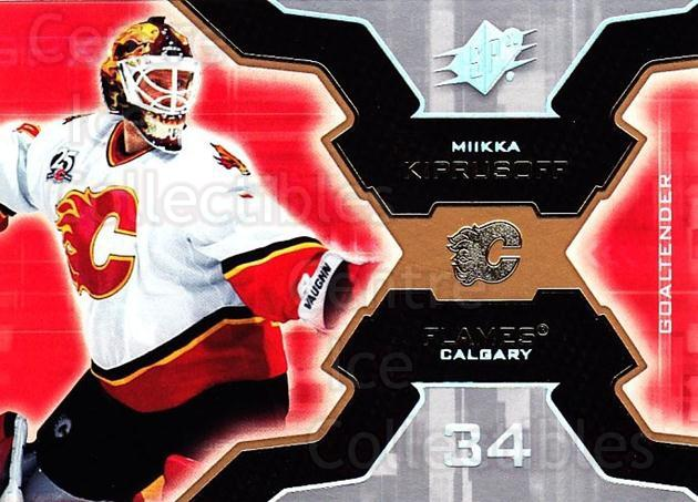 2006-07 SPx #15 Miikka Kiprusoff<br/>5 In Stock - $1.00 each - <a href=https://centericecollectibles.foxycart.com/cart?name=2006-07%20SPx%20%2315%20Miikka%20Kiprusof...&quantity_max=5&price=$1.00&code=132928 class=foxycart> Buy it now! </a>