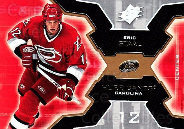2006-07 SPx #16 Eric Staal<br/>8 In Stock - $1.00 each - <a href=https://centericecollectibles.foxycart.com/cart?name=2006-07%20SPx%20%2316%20Eric%20Staal...&quantity_max=8&price=$1.00&code=132929 class=foxycart> Buy it now! </a>