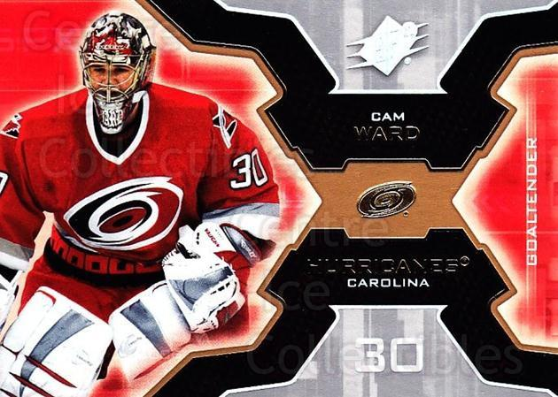 2006-07 SPx #17 Cam Ward<br/>5 In Stock - $1.00 each - <a href=https://centericecollectibles.foxycart.com/cart?name=2006-07%20SPx%20%2317%20Cam%20Ward...&quantity_max=5&price=$1.00&code=132930 class=foxycart> Buy it now! </a>