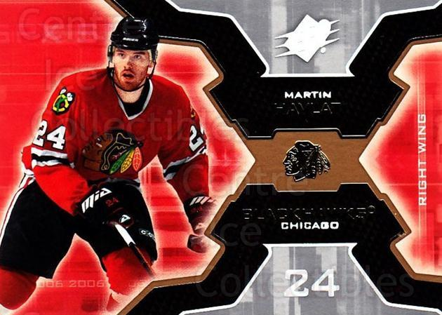2006-07 SPx #20 Martin Havlat<br/>6 In Stock - $1.00 each - <a href=https://centericecollectibles.foxycart.com/cart?name=2006-07%20SPx%20%2320%20Martin%20Havlat...&quantity_max=6&price=$1.00&code=132935 class=foxycart> Buy it now! </a>