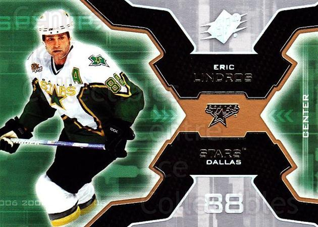 2006-07 SPx #29 Eric Lindros<br/>5 In Stock - $1.00 each - <a href=https://centericecollectibles.foxycart.com/cart?name=2006-07%20SPx%20%2329%20Eric%20Lindros...&quantity_max=5&price=$1.00&code=132949 class=foxycart> Buy it now! </a>