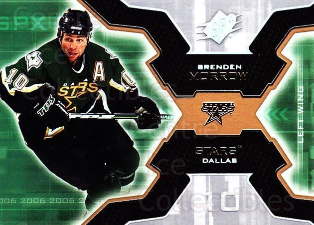 2006-07 SPx #31 Brenden Morrow<br/>6 In Stock - $1.00 each - <a href=https://centericecollectibles.foxycart.com/cart?name=2006-07%20SPx%20%2331%20Brenden%20Morrow...&quantity_max=6&price=$1.00&code=132952 class=foxycart> Buy it now! </a>