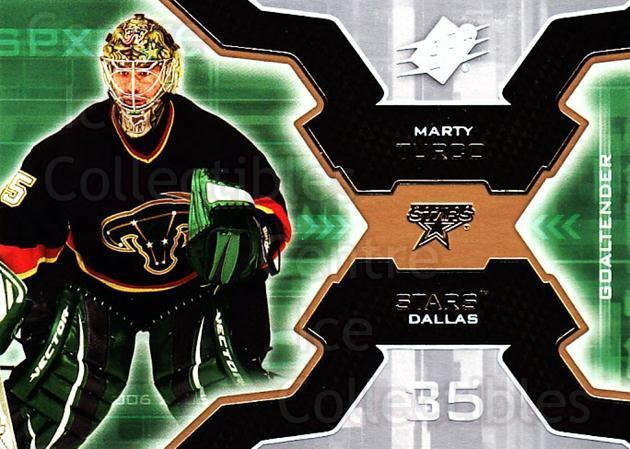 2006-07 SPx #32 Marty Turco<br/>4 In Stock - $1.00 each - <a href=https://centericecollectibles.foxycart.com/cart?name=2006-07%20SPx%20%2332%20Marty%20Turco...&quantity_max=4&price=$1.00&code=132953 class=foxycart> Buy it now! </a>