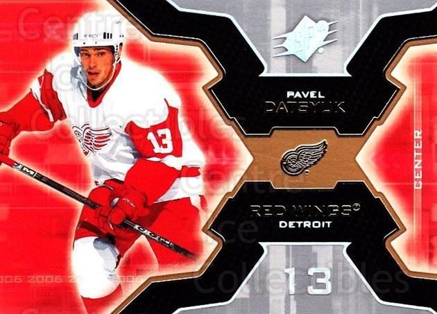 2006-07 SPx #33 Pavel Datsyuk<br/>6 In Stock - $2.00 each - <a href=https://centericecollectibles.foxycart.com/cart?name=2006-07%20SPx%20%2333%20Pavel%20Datsyuk...&quantity_max=6&price=$2.00&code=132954 class=foxycart> Buy it now! </a>