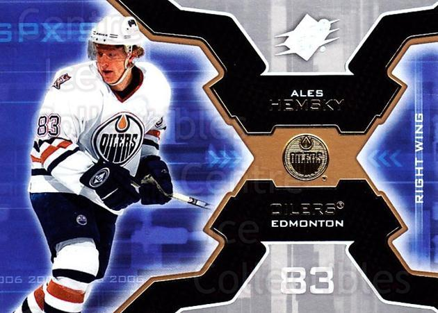 2006-07 SPx #39 Ales Hemsky<br/>6 In Stock - $1.00 each - <a href=https://centericecollectibles.foxycart.com/cart?name=2006-07%20SPx%20%2339%20Ales%20Hemsky...&quantity_max=6&price=$1.00&code=132960 class=foxycart> Buy it now! </a>