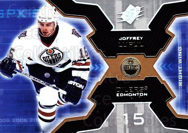 2006-07 SPx #40 Joffrey Lupul<br/>6 In Stock - $1.00 each - <a href=https://centericecollectibles.foxycart.com/cart?name=2006-07%20SPx%20%2340%20Joffrey%20Lupul...&quantity_max=6&price=$1.00&code=132962 class=foxycart> Buy it now! </a>