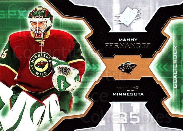 2006-07 SPx #49 Manny Fernandez<br/>5 In Stock - $1.00 each - <a href=https://centericecollectibles.foxycart.com/cart?name=2006-07%20SPx%20%2349%20Manny%20Fernandez...&quantity_max=5&price=$1.00&code=132970 class=foxycart> Buy it now! </a>