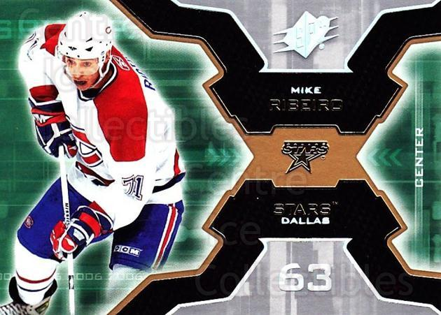 2006-07 SPx #55 Mike Ribeiro<br/>6 In Stock - $1.00 each - <a href=https://centericecollectibles.foxycart.com/cart?name=2006-07%20SPx%20%2355%20Mike%20Ribeiro...&quantity_max=6&price=$1.00&code=132977 class=foxycart> Buy it now! </a>