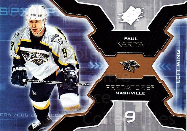 2006-07 SPx #56 Paul Kariya<br/>6 In Stock - $1.00 each - <a href=https://centericecollectibles.foxycart.com/cart?name=2006-07%20SPx%20%2356%20Paul%20Kariya...&quantity_max=6&price=$1.00&code=132978 class=foxycart> Buy it now! </a>