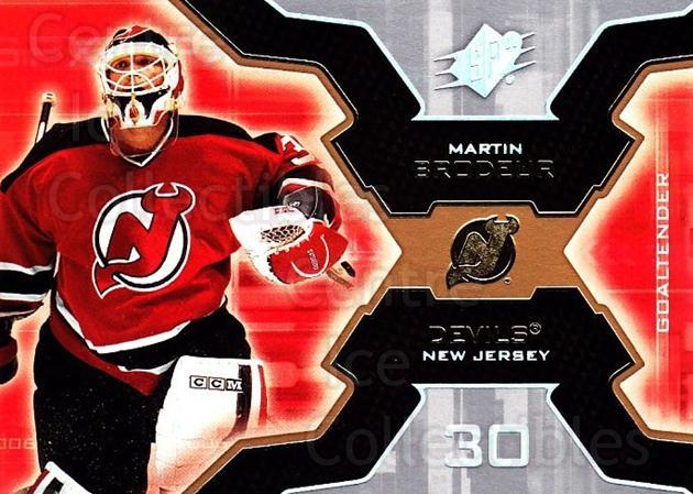 2006-07 SPx #59 Martin Brodeur<br/>4 In Stock - $3.00 each - <a href=https://centericecollectibles.foxycart.com/cart?name=2006-07%20SPx%20%2359%20Martin%20Brodeur...&quantity_max=4&price=$3.00&code=132981 class=foxycart> Buy it now! </a>