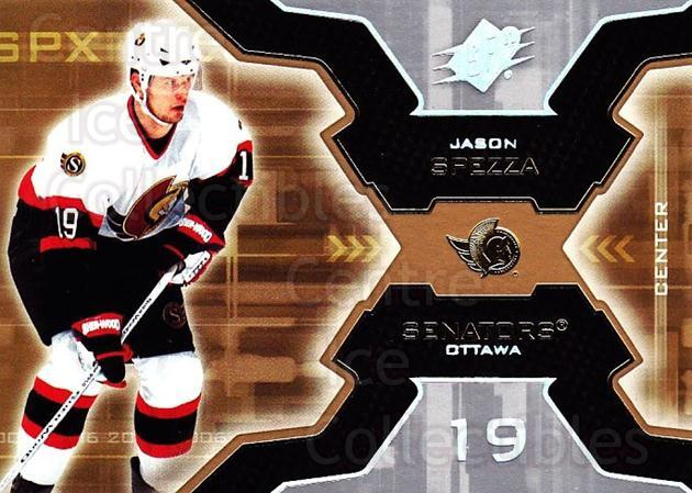 2006-07 SPx #71 Jason Spezza<br/>6 In Stock - $1.00 each - <a href=https://centericecollectibles.foxycart.com/cart?name=2006-07%20SPx%20%2371%20Jason%20Spezza...&quantity_max=6&price=$1.00&code=132995 class=foxycart> Buy it now! </a>