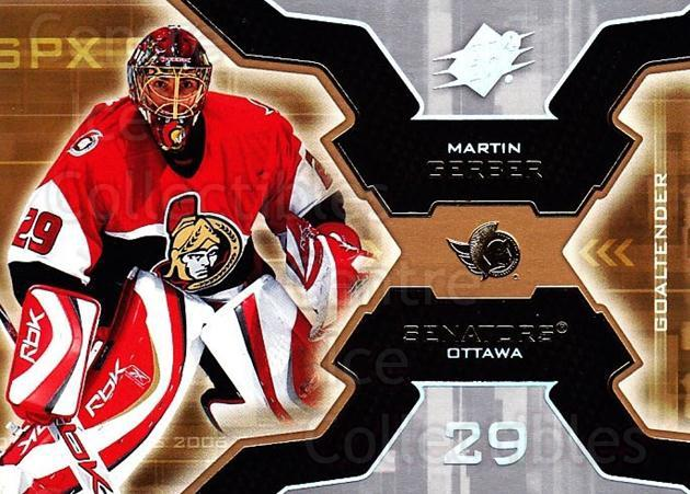 2006-07 SPx #73 Martin Gerber<br/>5 In Stock - $1.00 each - <a href=https://centericecollectibles.foxycart.com/cart?name=2006-07%20SPx%20%2373%20Martin%20Gerber...&quantity_max=5&price=$1.00&code=132997 class=foxycart> Buy it now! </a>
